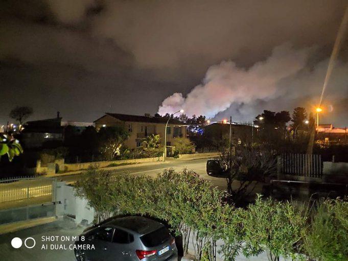Sassari In Fiamme Camion E Rimorchi Intervento Dei Vigili Del Fuoco Cagliaripad