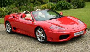 Ferrari 360 Spider F1 - shmoo automotive