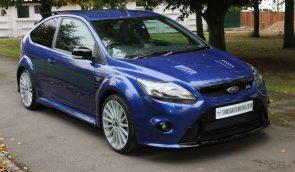 Ford Focus RS MK2 - Performance Blue - Shmoo Automotive Ltd