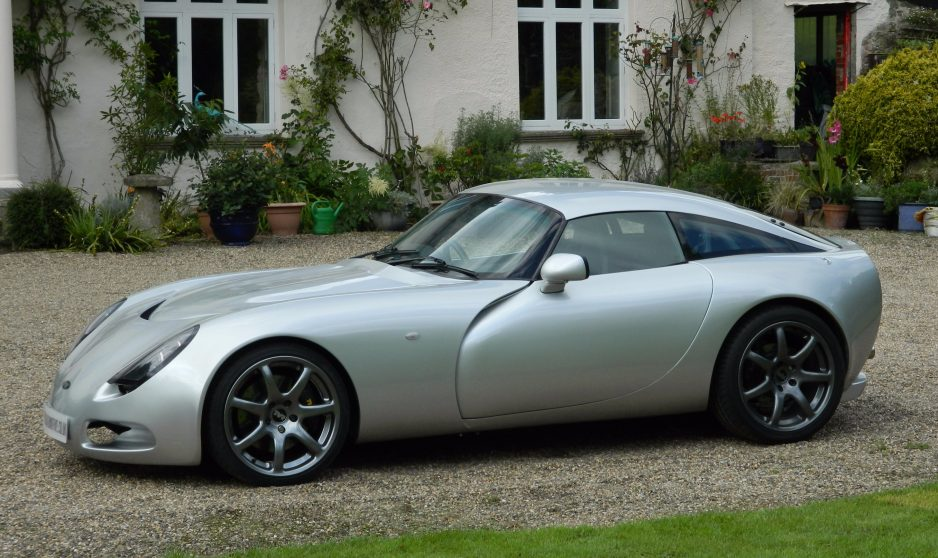 TVR T350C Silver - Shmoo Automotive Ltd