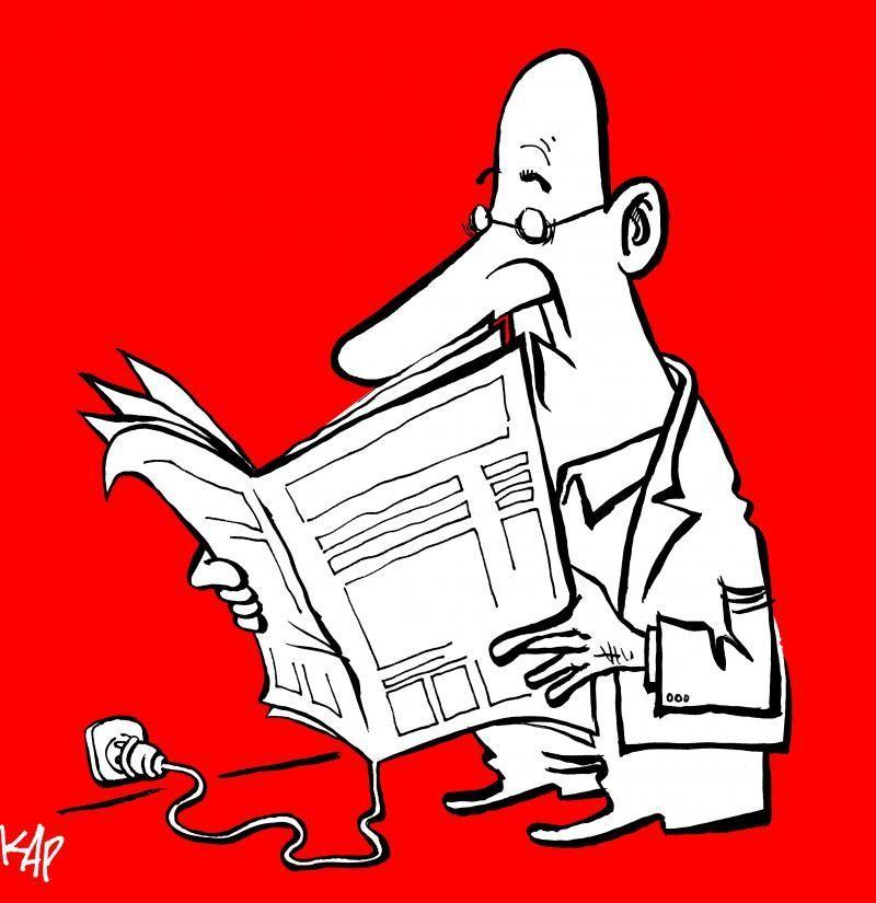 Cartoon by KAP