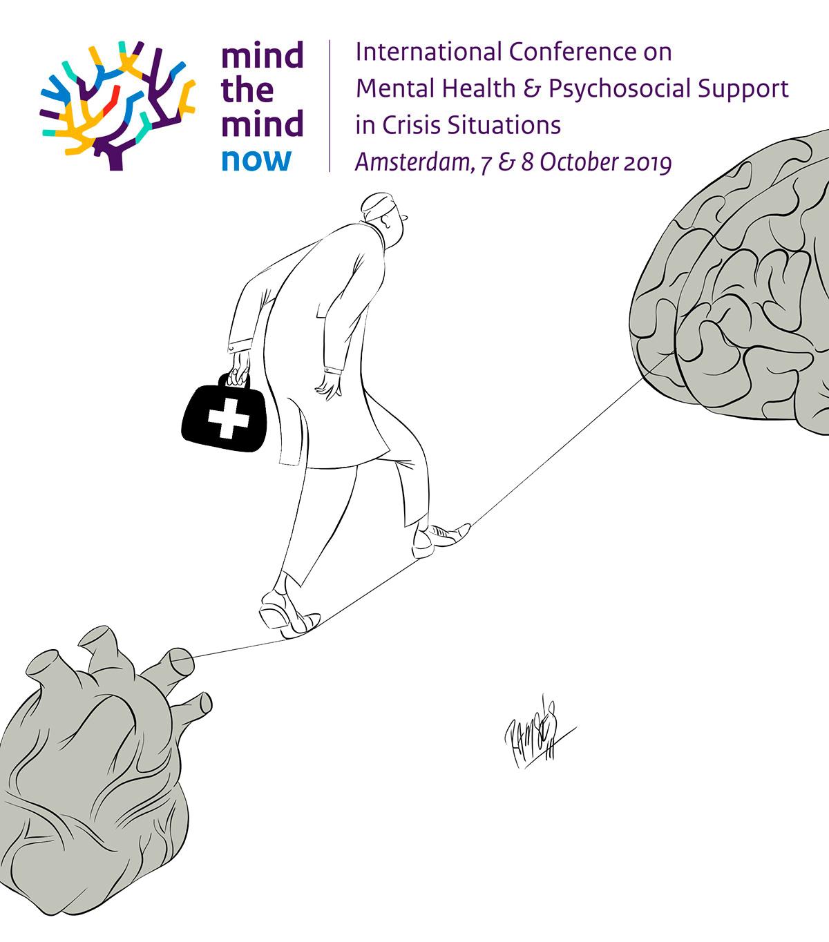 Mental health conference logo