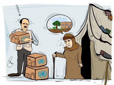 Many people in Syria lost their land because of Bashar Al-Assad
