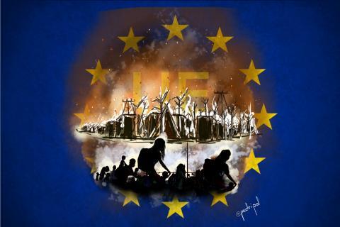 Moria, shame on EU