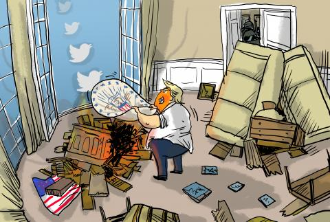 Twitterless Trump