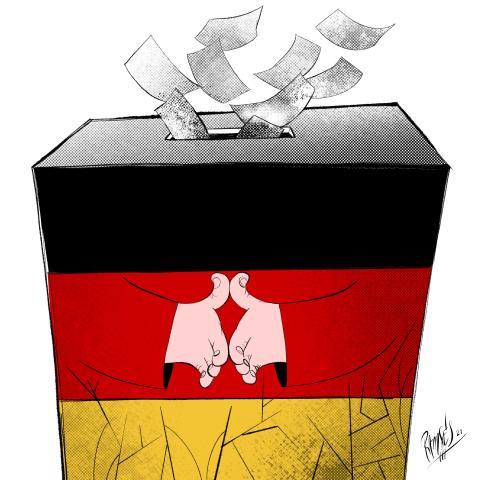 Merkel' farewell…