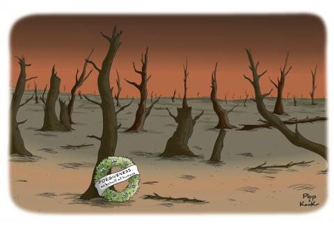 Cartoon about the environment