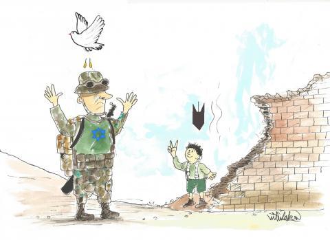 No to war, don't let children die