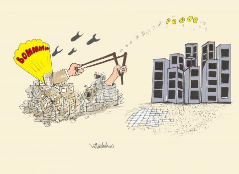 Gazze no war peace