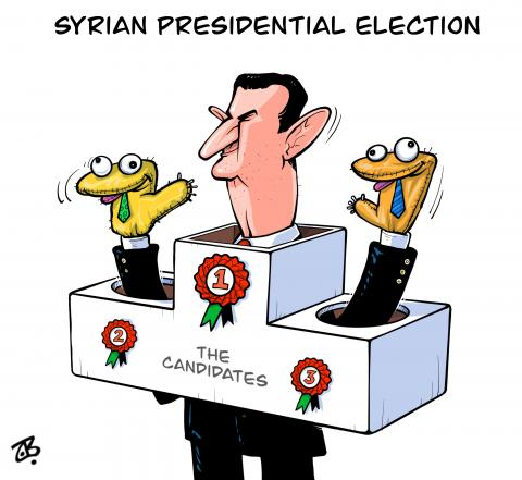 Syrian presidential election