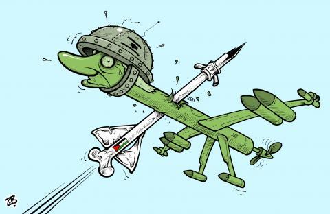 Bibi's drones vs. broken bones !