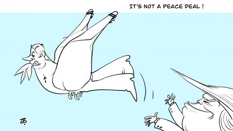 It's not a peace deal !!