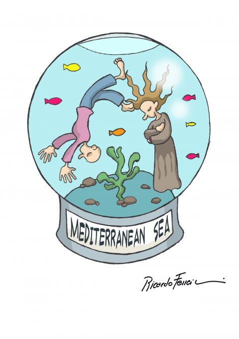 A Souvenir of the Mediterranean Sea.