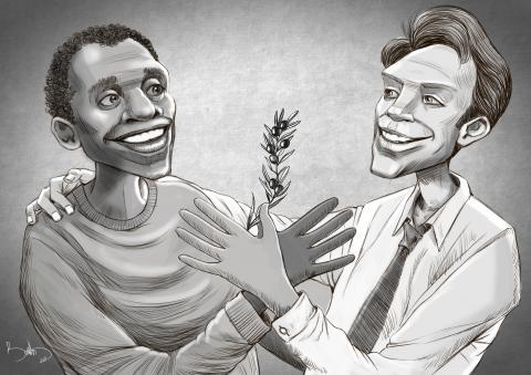 Equality-Sketcher-Matas K., Lithuania-Cartoon by Bahram Arjmandnia