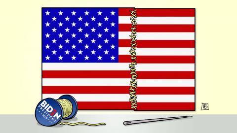 Biden and USA split