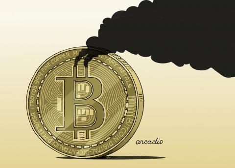 Too much energy for Bitcoin.