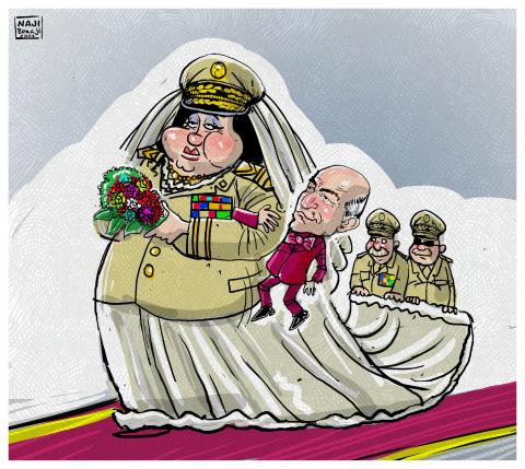 Algeria marriage of the regime with the military