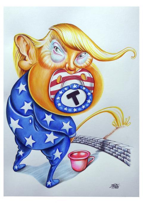 Baby Donald Trump