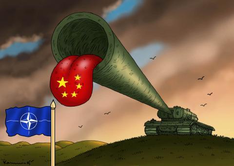 CHINA AND NATO