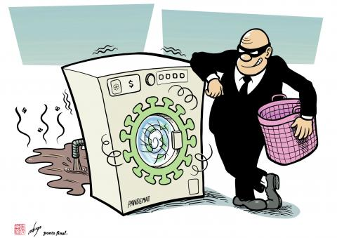 Pandemic creates new opportunities to generate and launder illicit revenues
