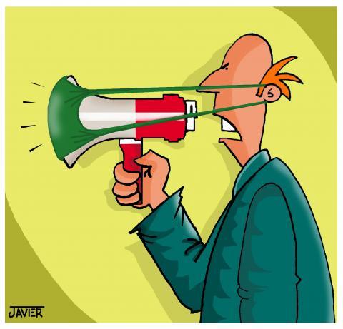 Cautious communicator
