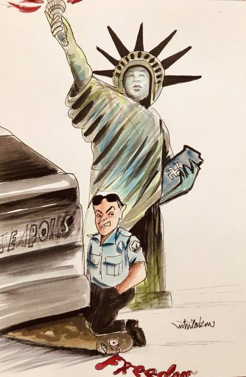 Freedom Racism Justice George Floyd