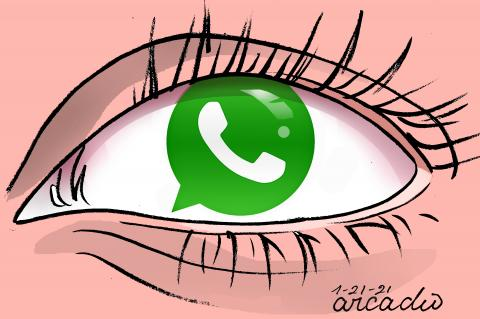 Whatsapp and Facebook in controversy.
