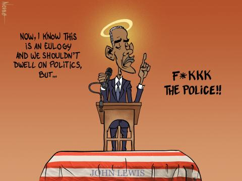 obama fukkk da police