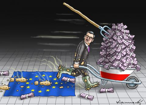 EU DESTROYER MORAWIECKI