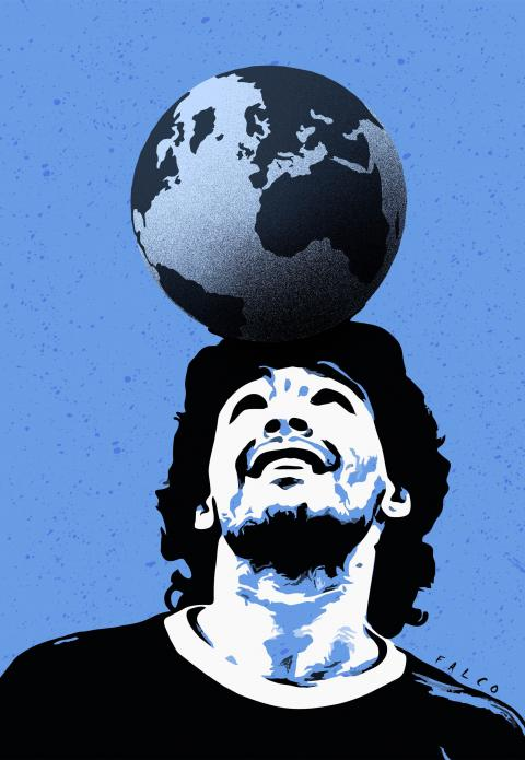 Maradona the best