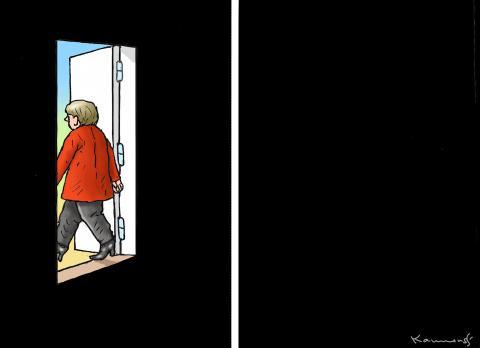 Merkel is leaving