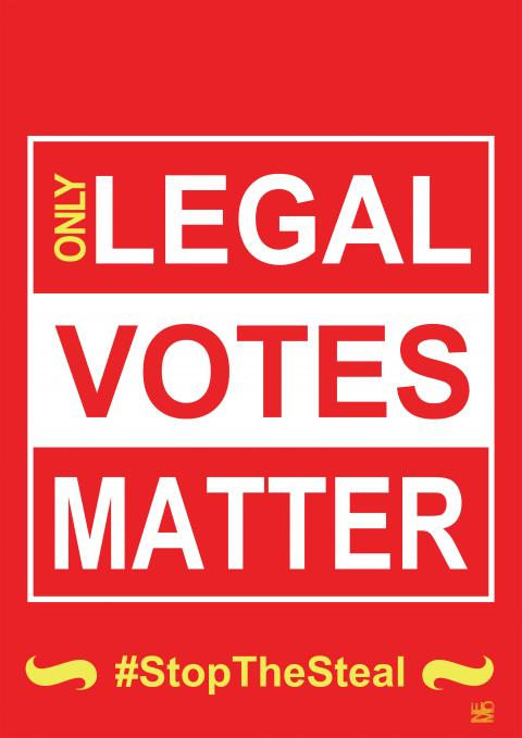 only legal votes matter by Nemo