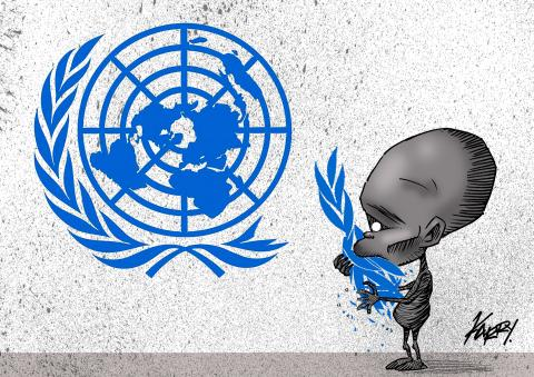 Cartoon about the UN
