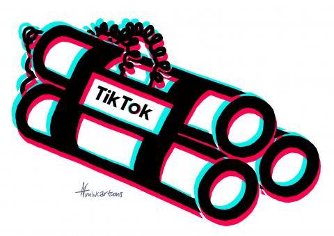 Time bomb Tik Tok