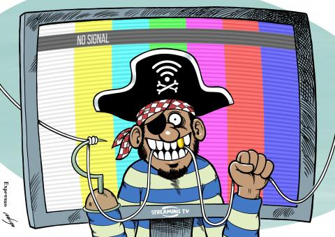 Streaming TV piracy steals millions from the economy