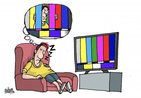 Prisoner of television
