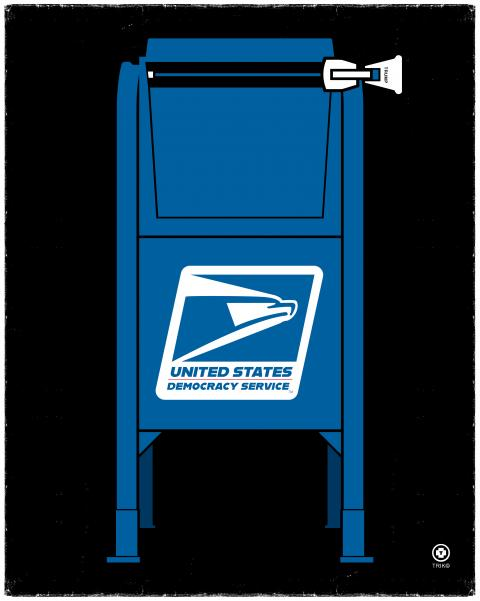 USPS Trump mail-in voting fraude