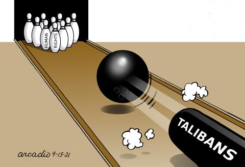 The new government in Afghanistan and its citizens.