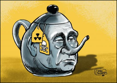 Putin's regime once again poisoned a member of the opposition .