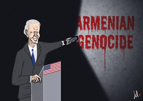 biden recognizes the armenian genocide