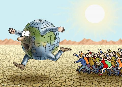 Overpopulation in climate change