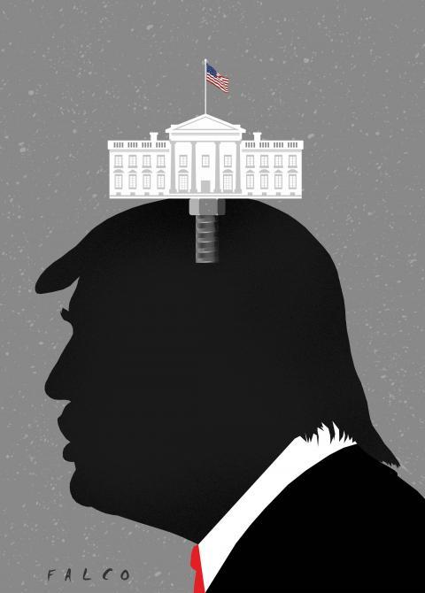 Obsessed president