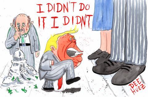 Trumps tantrum continues.