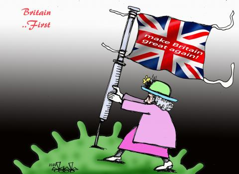 UK orona vaxin..