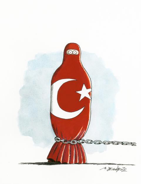 Turkey withdraws from E.U. treaty on violence against women