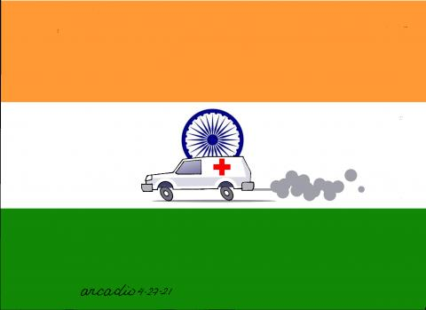 Covid-19 are killing too many people in India.
