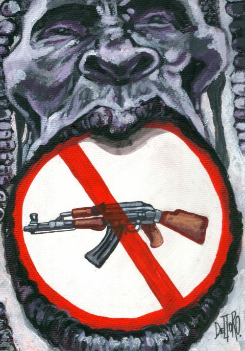 Stop war and guns un África