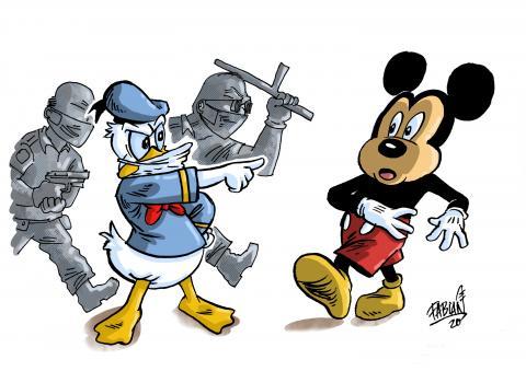 Orlando Disney Park reopens