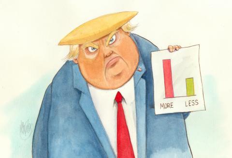 Trump struggles to defend his pandemic response