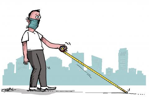 Coronavirus stick.